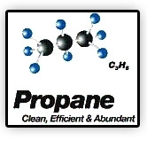 Propane -- Clean, Efficient & Abundant logo