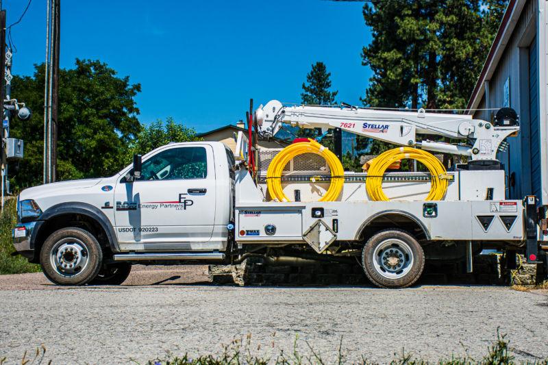 Energy Partners truck